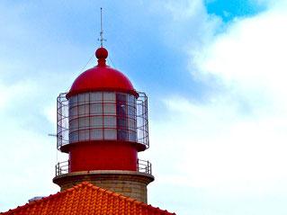 Lichthaus am Cabo de Sao Vincente