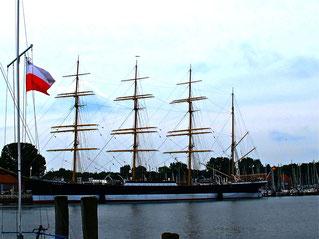 die Passat - bekanntes Segelschullschiff