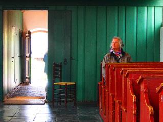 ein protestantischer Gebetsraum
