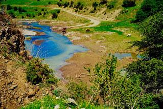 Wasserstelle im Kaukasus