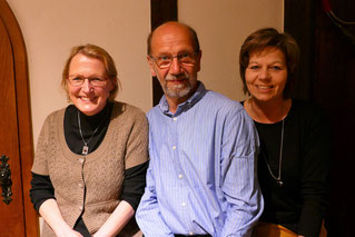Isabell Frähmcke, Helmut Heins, Sabine Steglich (von links nach rechts)