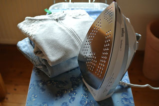 Haushalt organisieren - bügeln