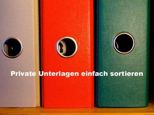 Haushalt organisieren - Private Unterlagen einfach sortieren