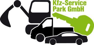 Abgewandeltes Logo für den Mietprofi der Kfz-Service Park GmbH ©2018