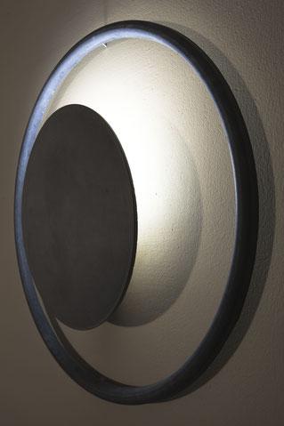 LUNA Beton Design Leuchte Wandlampe Lampe  Flurleuchte Flurlampe minimalistisch modern fattoAmano