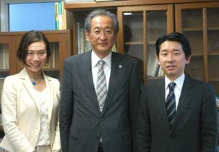 右から梅村聡氏、井上清成氏、熊田