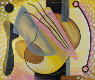 Manhattan Nights - Acryl auf Leinwand 61 x 51 cm