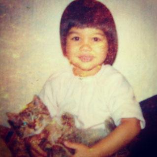 Jennifer mit 4 Jahren