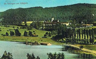 Strandbad beim Längsee um 1912