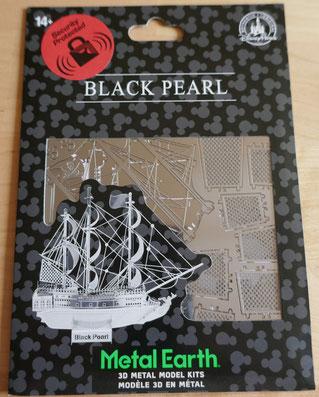 Black Pearl: metal earth