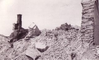 Stalingrad 1942 - Kampfhandlungen - Zerstörte Straßen