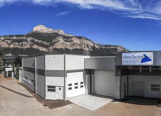 Micro technic - usinage de précision à Crolles (Rhône Alpes, Isère, proche Grenoble)