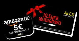5 Euro Amazon und Alex Light and Sound Gutschein Geld verdienen