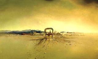 Картины Сальвадора Дали (1931 - 1940) - Призрачная повозка  (1933)