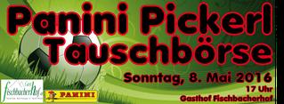 Panini Pickerl Tauschbörse in Fischbach