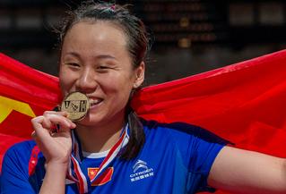 Drittes Gold für Zhao Yunlei? (Bild: Bernd Bauer)