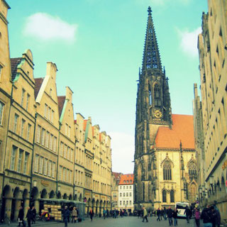 Münster in Germany. I visited it for one week to see my family and friends and to ground...