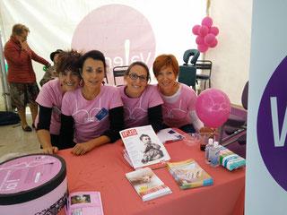 Les Praticiennes bénévoles: Nathalie, Véronique, Maud & Ariane