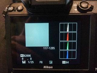 ArtStudio5.fr exposition à droite sans flashmètre histogramme