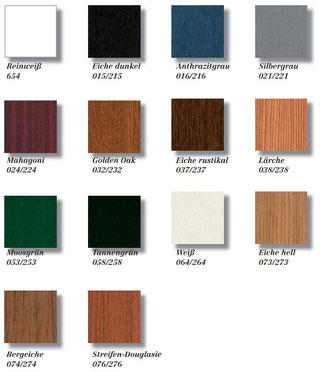 Standardfarben – direkt Lieferbar