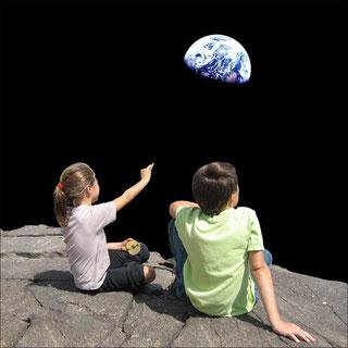Astrología y niños en Girona