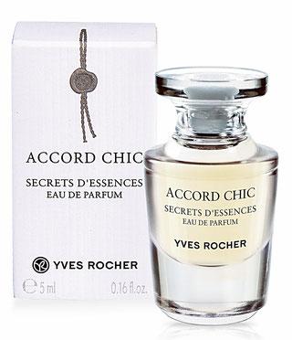 RENTREE 2016 - ACCORD CHIC, SECRETS D'ESSENCES EAU DE PARFUM, 5 ML
