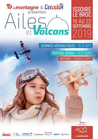 Ailes et Volcans cervolix reportage canon france Issoire 2019