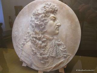 Louis XIV, marbre blanc XVIIe Siècle