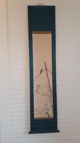 Zen Centrum Eemland, japanse scroll, natuur