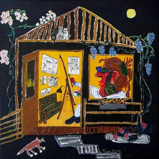 Das Atelier wie es in der Schweiz war