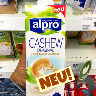 Alpro Cashew Milch