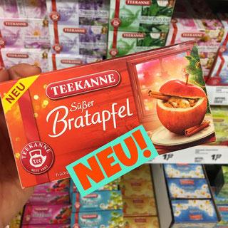 Teekanne Tee süßer Bratapfel