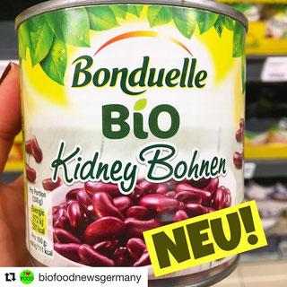 Bonduelle BIO Kidney Bohnen & Bonduelle Bio Kichererbsen