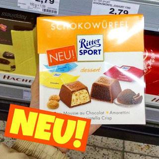 Ritter Sport Schokowürfel dessert