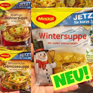 Maggi winterliche Hühnersuppe Gemüsesuppe Wintersuppe