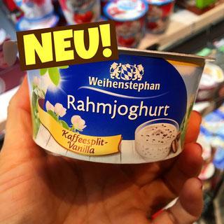 Weihenstephan Rahmjoghurt Kaffeesplit-Vanilla