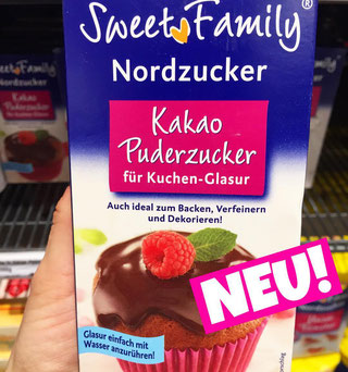 Sweet Family Nordzucker Kakao Puderzucker