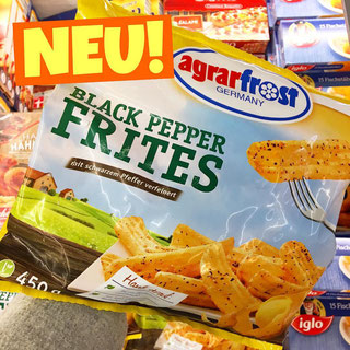 Agrarfrost Black Pepper Frites