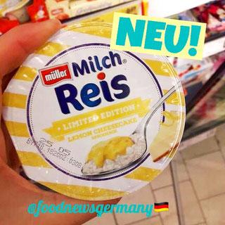 Müller Milchreis Lemon Cheesecake