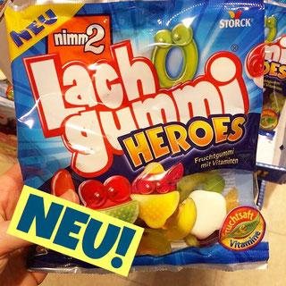 Lachgummi Heroes