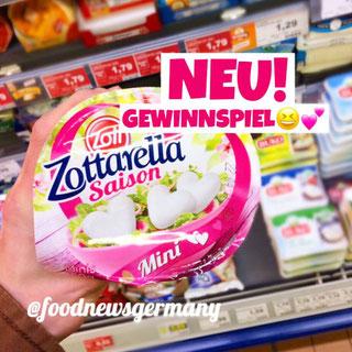 Zott Zottarella Saison Mozzarella Mini Herzen
