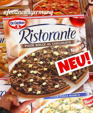 Schokoladenpizza Dr.Oetker Ristorante Pizza Dolce al cioccolato