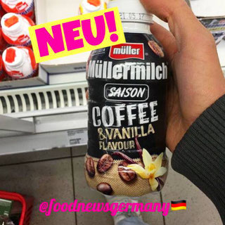 Müllermilch Saison Coffee & Vanilla