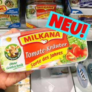 Milkana Tomate-Kräuter Sorte des Jahres