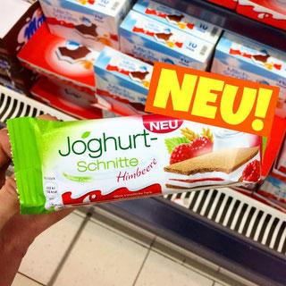 Joghurt Schnitte Himbeere