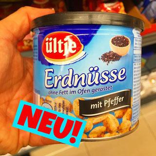 Lütje Erdnüsse mit Pfeffer