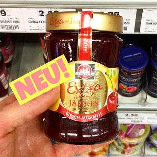 Schwartau Extra des Jahres Kirsch-Mirabelle