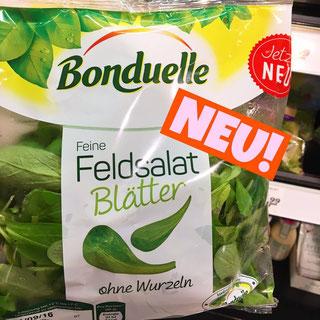 Bonduelle Feldsalat Blätter ohne Wurzeln