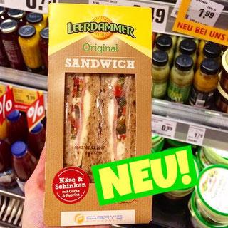 Leerdammer Käse Sandwich