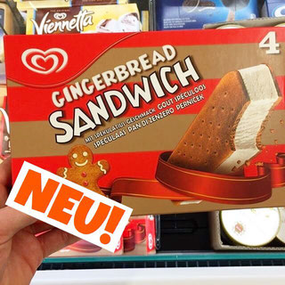 Langnese Gingerbread Sandwich